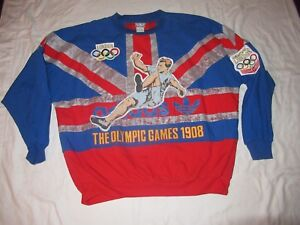 Vintage Adidas London Olympic Games Pullover
