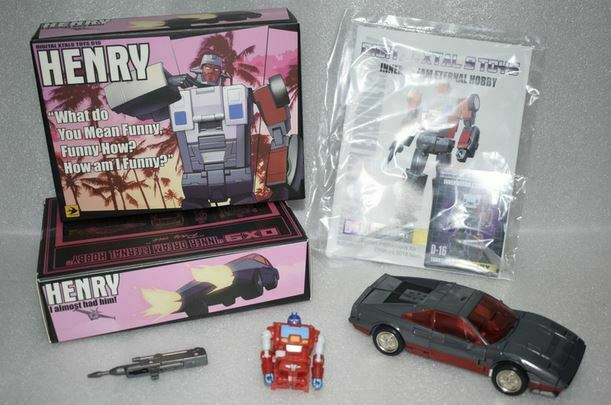 NUOVO DX9 giocattoli DX9 D16 ATTILA Henry cifra in magazzino