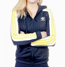 c83935b7e32dd Adidas Originals Cosmic Confession Rita Ora Hoodie Navy Yellow Jacket S M  10 8
