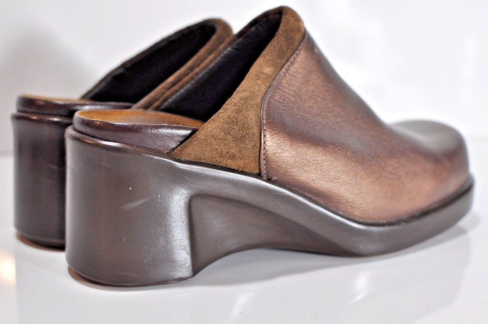 Naot Donna leather wedge slip on Scarpe size EU 37