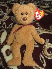 TY BEANIE BABIES VERY RARE RETIRED CURLY BEAR 12 ERRORS ODD UNIQUE COLLECTIBLE