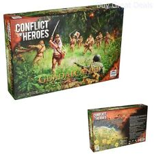Academy Games Conflict Of Heroes BOARD GAME, Guadalcanal War GAME BOARD - NEW