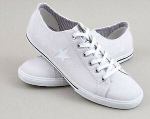 Converse Low One Womens Star Trainers Uk Size Shoes Grey Profile All 5 Mens 6wq5O