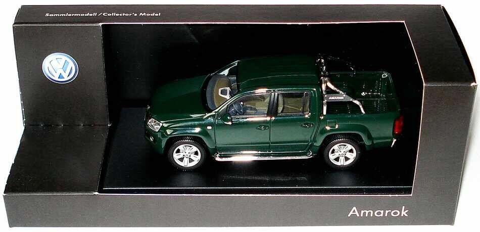 Très rare VW AMAROK 2 H TDi 4-Motion Bernato vert 1 43 Minichamps (concessionnaire modèle)