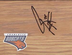 Charlotte Bobcats Reggie Williams Signed Floorboard COA