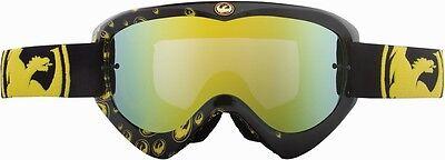 Dragon MDX Goggle Gold Icon W/Gold Ionized Lens ATV,UTV,MX,Offroad,Motocross