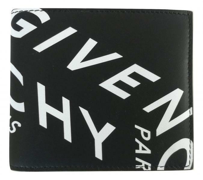 GIVENCHY men's BI-FOLD wallet BK6005K0XG004 in black leather