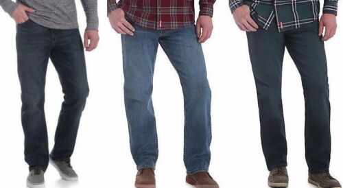 Size Regular /& Big NEW Mens Wrangler Five Star Relaxed Fit Jean with Flex