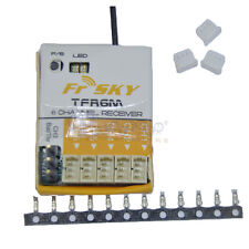 FrSky TFR6M Futaba FASST Compatible 6CH Micro Receiver for Park Flyers
