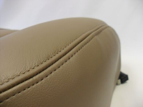 2003 To 2006 Chevy Avalanche GMC Sierra Driver Bottom Leather Seat Cover Tan