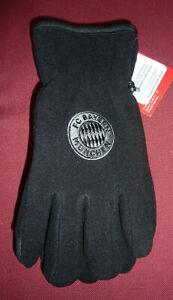 FC Bayern Fleecehandschuhe Logo
