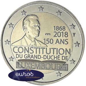 2-euros-cc-Luxembourg-2018-Constitution-Markmint-Pont-St-Sevle-BU