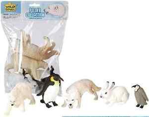 Wild-Republic-Large-Polybag-Polar-Animal-Play-Set-toy-Figurines-81593