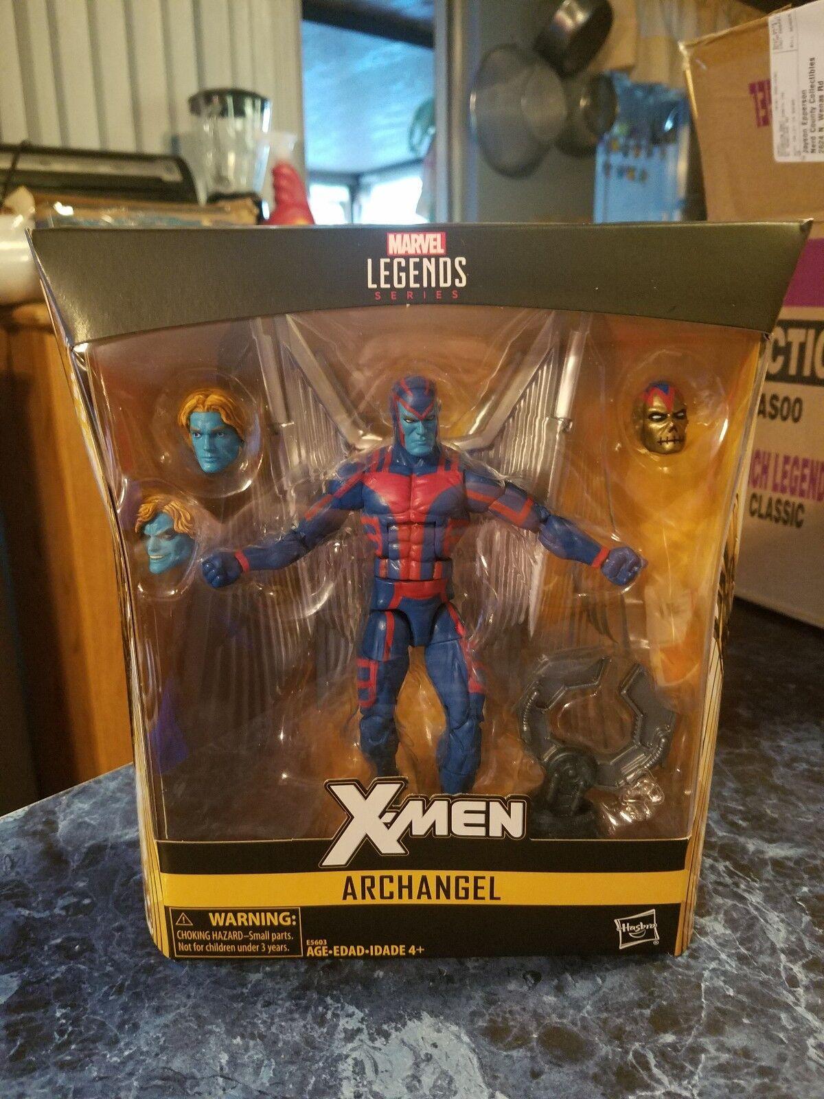 Xmen marvel - legenden erzengel actionfigur exklusiv