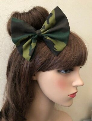 Delights Green Camouflage Army Girl Headband