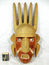 Seltene Bambara Wandmaske / wall mask ACHATIT  Werkstätten H. Schirmer 8062 38cm
