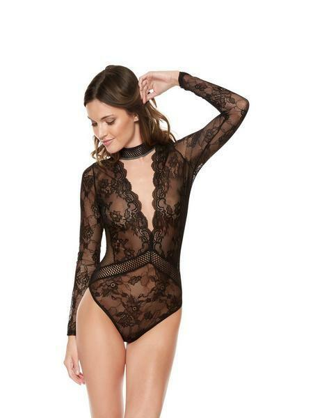 Ann Summers Black Cannes Body - Small, Medium Or Large *only £14.99*