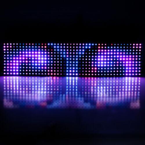 8x32 11x44 18x32 20x50 WS2812B RGB LED Pixel Digital Flexibler Panel Adressierba