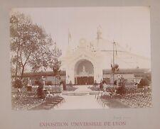 PHOTO ancienne 150715- FRANCE Lyon 1894 Expo universelle Coupole de l'entrée