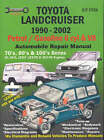 Toyota Landcruiser 1990-2002 Petrol/Gasoline 6 Cyl and V8: Automobile Repair Manual: 70'S, 80's and 100's Series by Max Ellery (Paperback, 2003)