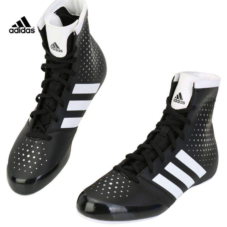 Adidas Wrestling shoes Boxing MMA shoes Black CG2996 SZ 4-11