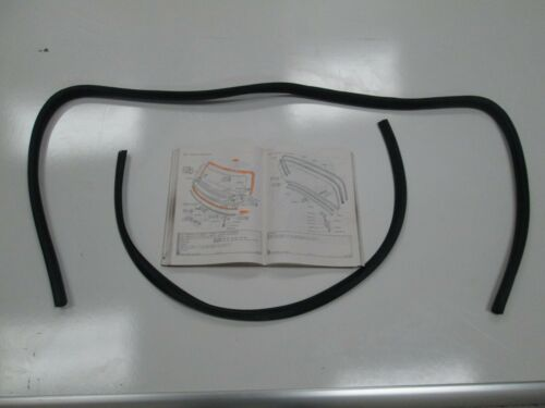 ROVER P6 FRONT WINDSCREEN RUBBER SET AS ORIGINAL NEW FITS ALL MODELS