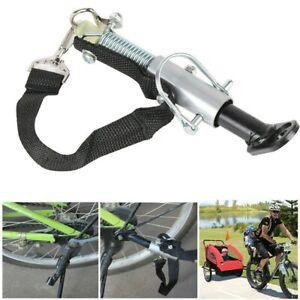 Bike Trailer Hitch Useful Bike Trailer Adapter Steel Linker for Trailer Bike