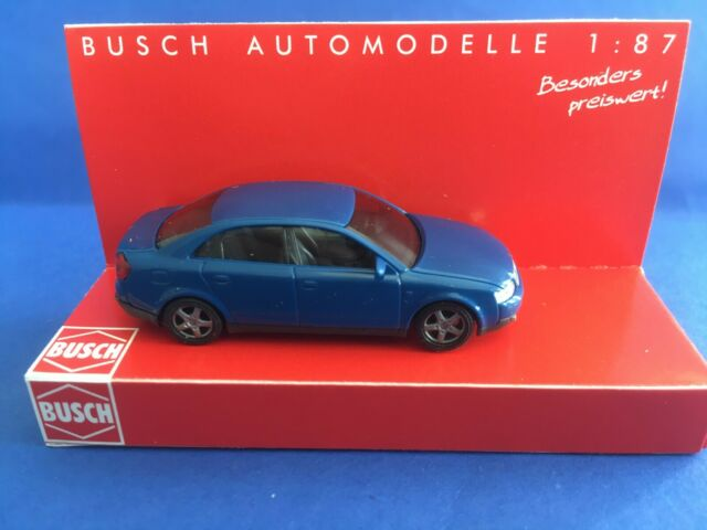 Busch Audi A4 dunkelblau 89133