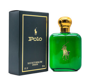 Polo Green by Ralph Lauren 8 / 8.0 oz EDT Cologne for Men New In Box