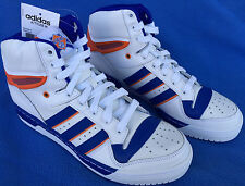 Adidas Attitude HI NY Knicks D73897 Retro Ewing Basketball Shoes Men's 9.5 new