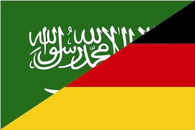 Fahne Flagge Freundschaftsfahne Deutschland USA 90 x 150 cm