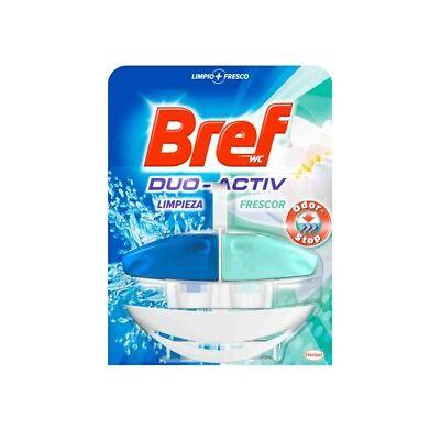 Bref WC Duo Activo Aparato + Recambio Agua Azul Stop Olor 50ml