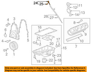 Cadillac Gm Oem 09 15 Cts 6 2l V8 Engine Oil Fluid Dipstick 12584737