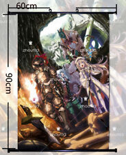 Goblin Slayer Wall Scroll Poster Home Decor With Hook High Quality Cos Gift
