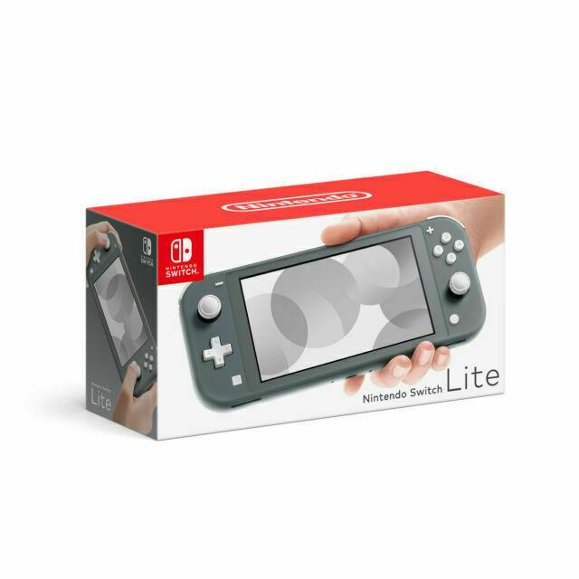 Nintendo Switch Lite - Gray W/ 128 Gigabyte SD Card  - $155.00