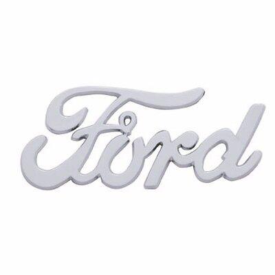 """Chrome /"""" Cruisin /"""" Emblem Script Rat Rod Ford Chevy Low Boy Deuce Coupe Trunk"""