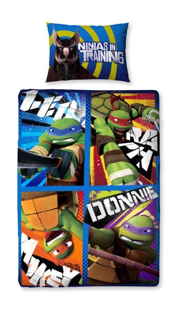 Original Original Original Teenage Mutant Ninja Turtles Kinder-Bettwäsche 135x200 NEU OVP   Export  62b68a