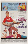 ELVIS PRESLEY - KID GALAHAD - HIGH QUALITY VINTAGE MOVIE/MUSIC POSTER