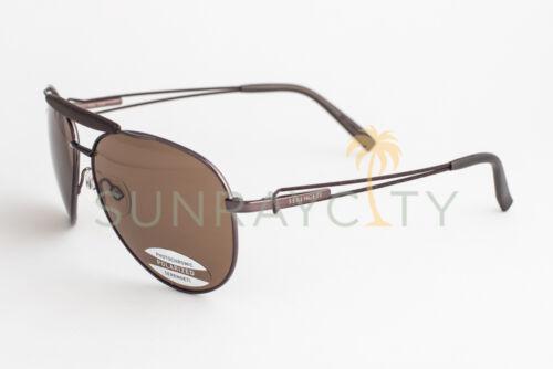 Serengeti Torini Espresso Tan Polarized Drivers Sunglasses 7253