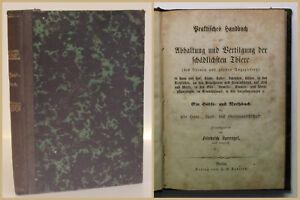 Sprengel Praktisches Handbuch zur Abhaltung und Vertilgung der Thiere um 1900 xy