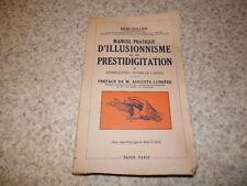 1948.manuel illusionnisme prestidigitation.T1.cartes.Ceillier