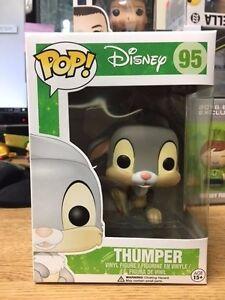 Funko-Pop-Disney-Thumper-95-Retired-Good-Condition-New-Mint