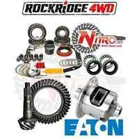 Chevy 12 Bolt Car 3.31 Nitro Gear Ring Pinion Master Install Kit Eaton Posi Kit