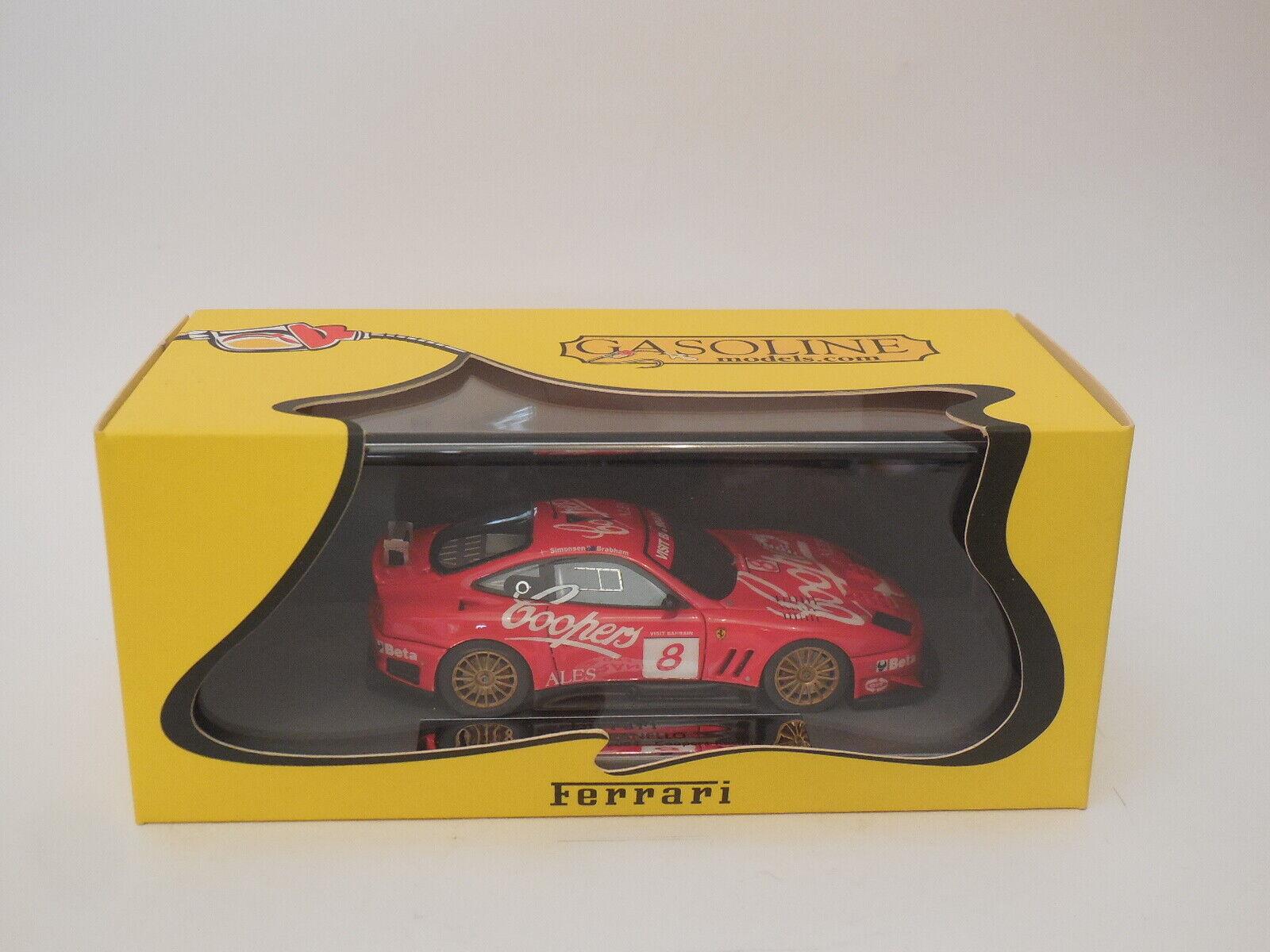 1   43 bbr gasolina Ferrari 550 Maranello 8 braba   Simmons campeón de Bahrein