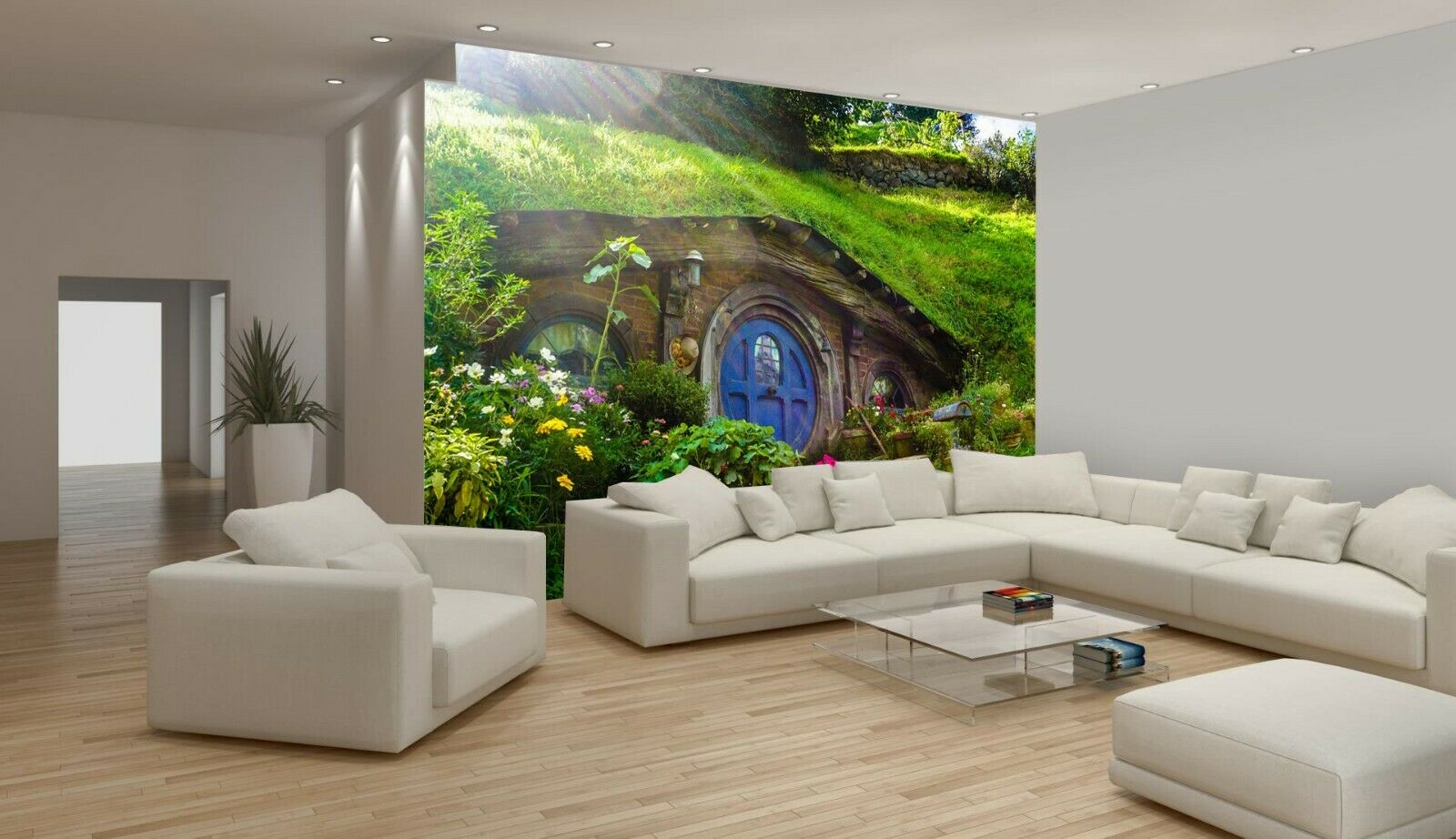 Details About Hobbit House Movie New Zealand Wallpaper Mural Photo Kids Poster Diy Decoration