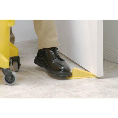 4-Pack Jumbo Rubber Door Wedge Heavy Duty Safety Shepherd Hardware 3763 Yellow