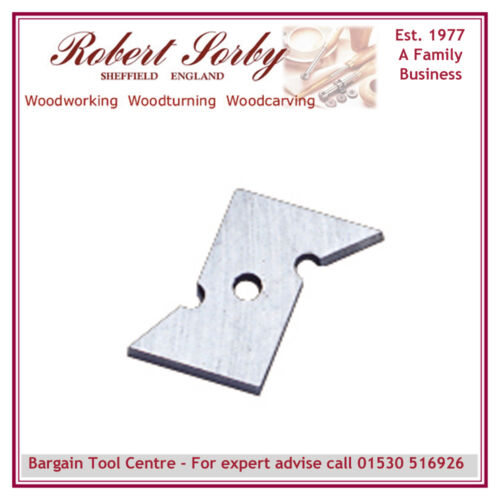 ROBERT SORBY RS234C hss recess cutting tip