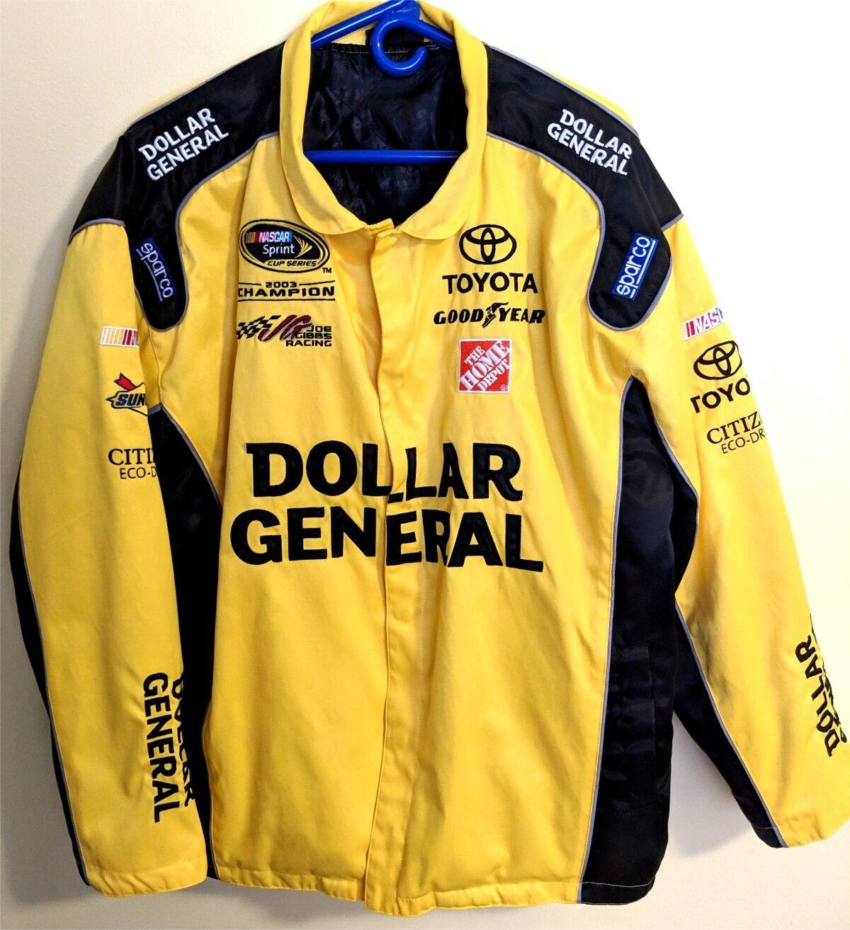 DOLLAR GENERAL RACING COAT - Officially  NASCAR Licensed - Matt Kenseth  XL Nice  cheap designer brands