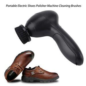 Elektrische-Schuhputzmaschine-Schuhputzer-Schuh-Polier-Schupflege-Buerste