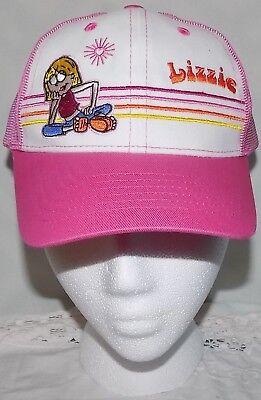 NEW LOT 2 NWT DISNEY CHANNEL LIZZIE MCGUIRE SHOW CAP HAT PINK HILLARY DUFF GIRLS